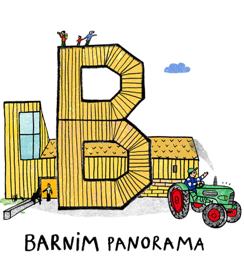 Barnim Panorama Illustration