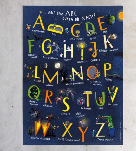 kinder abc poster