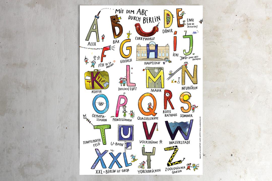 kinder abc poster berlin