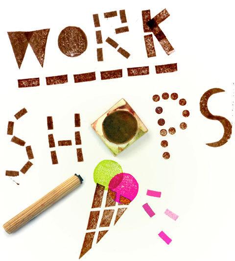 kreativ workshops mit Kindern